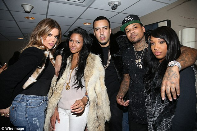 Khloe Kardashian, Cassie, French Montana, Chinx and Malika
