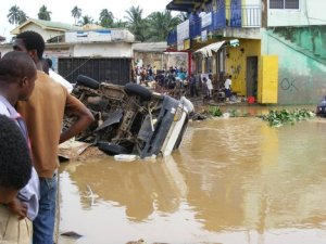 Heavy downpour floods Accra and some parts of Ghana