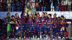 Barcelona wins Champions League Final: Treble Complete