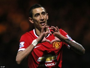 Funny pic of Angel Di maria Missing