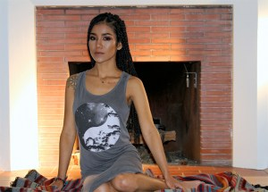 """Jhené Aiko looks stunning, as she models NEFF Headgear's """"Soul Of Summer"""" Collection (Photos)"""