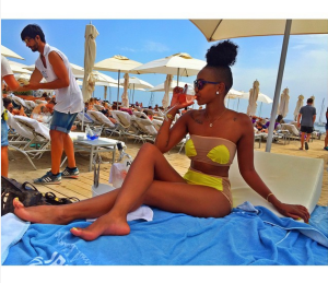 Check out: Huddah Monroe's hot topless bikini photos from Ibiza