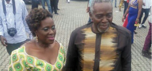 Olu Jacobs and Joke Silva looking lovely at City People Awards (Photo)