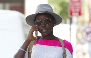 Lupita Nyong'o enjoying the New York Streets (Photos)