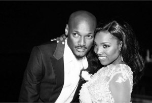Annie Idibia celebrates 2Face's 40th birthday with loving message
