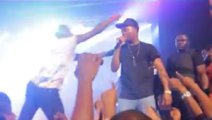 UNILAG Students Steal from Olamide and Dammy Krane During Performance (Photos + Video)