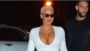 Amber Rose stuns in white (Photos)