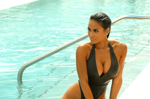 See the body on 50 Cent's Baby Mama, Daphne Joy (Photos)