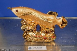 Nigerian Arrested In Australia With $10m Hard Drug Hidden In Gold Fish Statues (Photo)