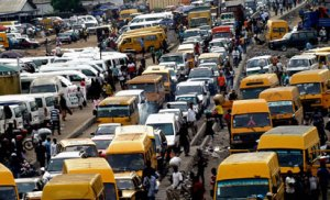 Armed Robbers strike in Lagos traffic, two feared dead (Graphic Photo)