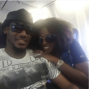 2face treats wife, Annie Idibia to surprise birthday dinner (Photo)