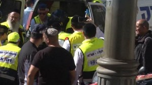Two teenage girls mistake 70-year-old Palestinian man for an Israeli, stabbing him with scissors