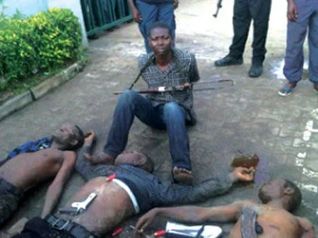 armed robbers