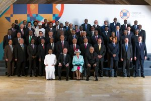 President Buhari in group photographs with the Queen and other Heads of Govt. in Malta (Photos)
