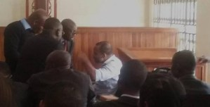Director of Radio Biafra, Nnamdi Kanu finally appears in Court (Photos)