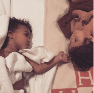 Kim Kardashian shares cute pic of daughter North with cousin, Penelope