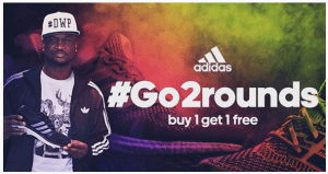Peter Okoye of P-Square bags new endorsement deal with Adidas (Photos)
