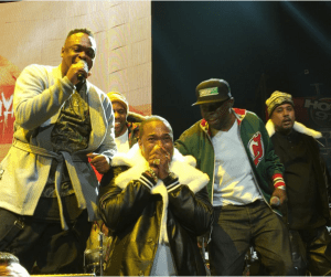 Busta Rhymes Gets Emotional On Stage at the Hot 97 show (Photos + Videos)