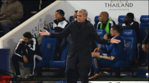 Real Madrid Fans Send Message To Jose Mourinho During Defeat To Eibar (See Photo)