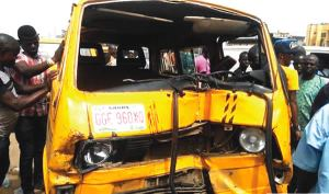 Baby killed as overzealous LASTMA officer causes accident