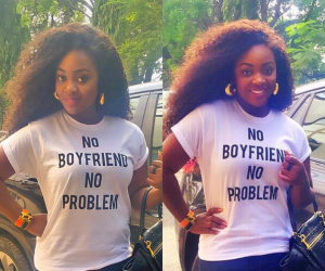 See the T-Shirt actress, Jackie Appiah shared on Instagram (Photo)