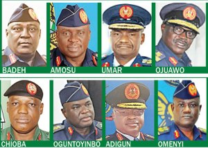 , 18 Generals to appear before EFCC Monday over the arms fund scandal, Effiezy - Top Nigerian News & Entertainment Website