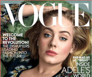Adele covers Vogue magazine in style (Photos)