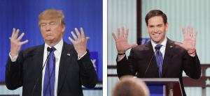 Trump brags about his manhood, denies he has small hands during the Detroit Republican presidential debate