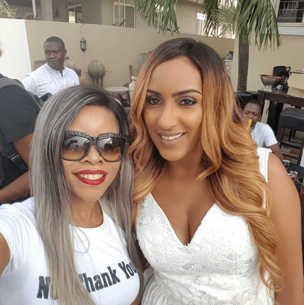 Laura Ikeji and Juliet Ibrahim