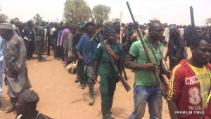 10,000 hunters gather in Adamawa, seek clearance to confront Boko Haram in Sambisa Forest (Photos)