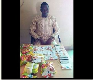 China-bound Nigerian, arrested with 130 ATM cards hidden in noodles pack (Photo)