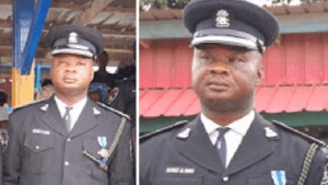 Police Chief, Arase demotes DPO who beat up female traffic warden in Ogun (Photo)