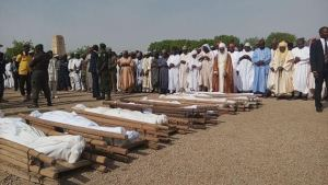 Kano students who lost their lives in horrific road accident laid to rest (Photos)
