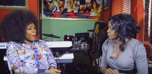 Omawumi walks out of interview after being asked about her smoking and drinking habit (Video)