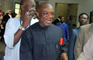 Orji Kalu, former Abia state governor, arraigned by EFCC for alleged money laundering (Photo)