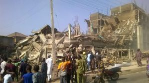 Many feared dead as shopping mall in Ogun state under construction collapses