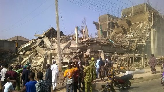 shopping mall collapses in Ogun state1