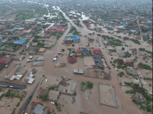 Accra hit by flood and torrential rain (Photos)