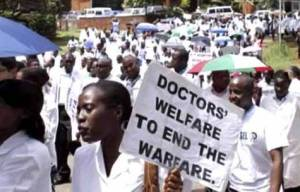 Doctor protest in Nigeria
