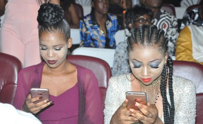 See scary make up of Ghanaian ladies