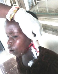 Lagos court sentence woman to four-year jail term for cutting 12-year-old with razor blade (Photo)