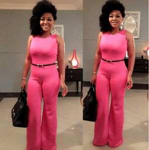 Watch- The moment Mercy Aigbe moved out of her husband's house
