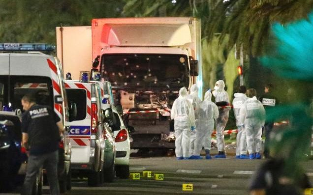 The truck Mohamed Lahouaiej Bouhlel used to kill and maim innocent people