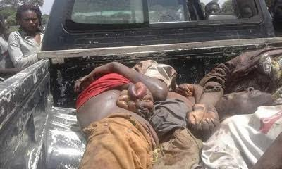Victims of the horrific attack in Benue stae