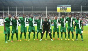 See the moment, wrong National Anthem was played for Nigeria football team at the Rio 2016 Olympics (Video)