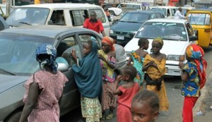 Borno state residents complain about increase in female street beggars