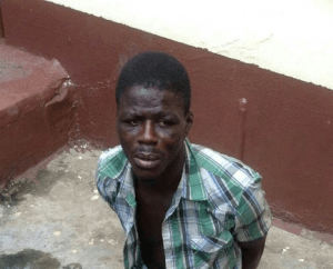 Unbelievable! Arrested pickpocket steals policewoman's N1,200 while in police custody (Photo)