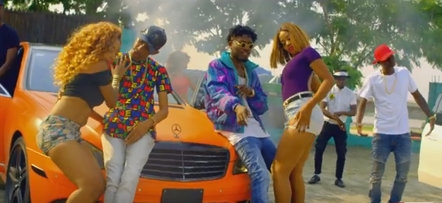 DJ Consequence ft. YCee - In A Benz video