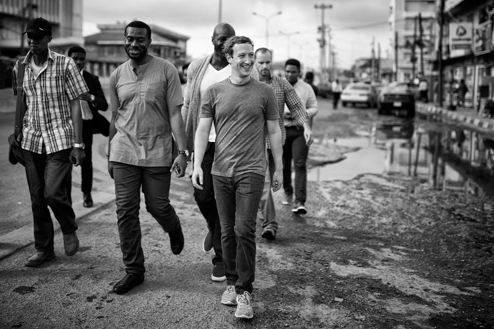 Walking the streets of Lagos
