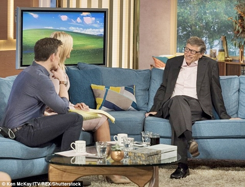 Bill Gates on This Morning Show